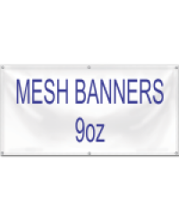 Banner MESH 9oz 1 foot Height