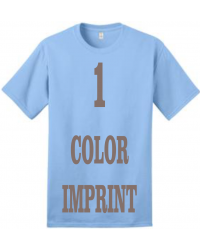 1-COLOR IMPRINT - Direct Screen Print