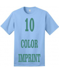10-COLOR IMPRINT - Direct Screen Print