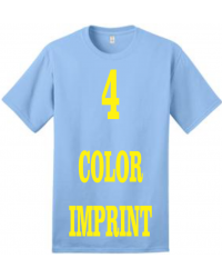 4-COLOR IMPRINT - Direct Screen Print