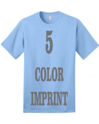 5-COLOR IMPRINT - Direct Screen Print