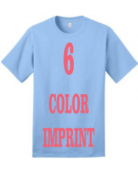 6-COLOR IMPRINT - Direct Screen Print