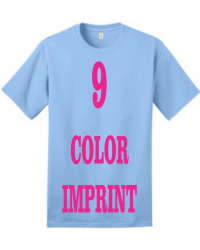 9-COLOR IMPRINT - Direct Screen Print