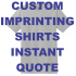 Direct Screen Printing-SHIRTS (Ready in 7-10 Business Days)