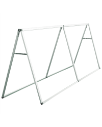 8' Horizontal A-Frame Display Hardware Only