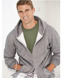 Bayside - USA-Made Full-Zip Hooded Sweatshirt - 900