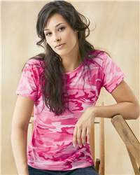 Code V - Ladies' Camouflage T-Shirt - 3665