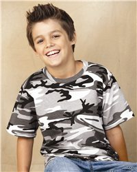 Code V - Youth Camouflage T-Shirt - 2206