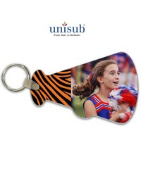 US - U5896 - Unisub® FRP Gloss Megaphone Shaped Key Tag Key Tag
