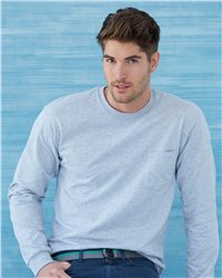 Gildan - Ultra Cotton™ Long Sleeve T-Shirt with a Pocket - 2410