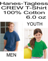 Hanes - TAGLESS T-Shirt Whith a Pocket  - 5250