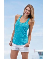 Next Level Apparel Burnout Racerback Tank - 6533
