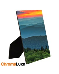 5x7 ChromaLuxe Hardboard Photo Panel - Gloss White