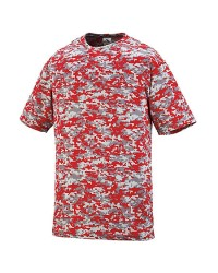 Augusta STYLE 1798 ADULT DIGI CAMO WICKING T-SHIRT
