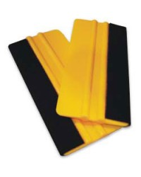 "Felt Wrapped Squeegee, 6"" x 2 7/8"""