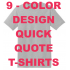 Quick Quote T shirts