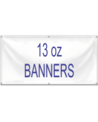 13oz BANNER Quick Price Standard Sizes
