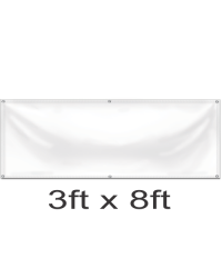 Custom Design Your Banner 3ft x 8ft